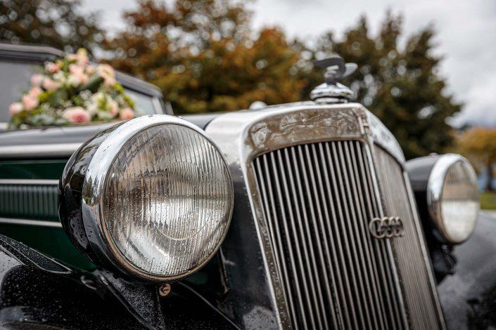 Hochzeit Mondsee / Oldtimer