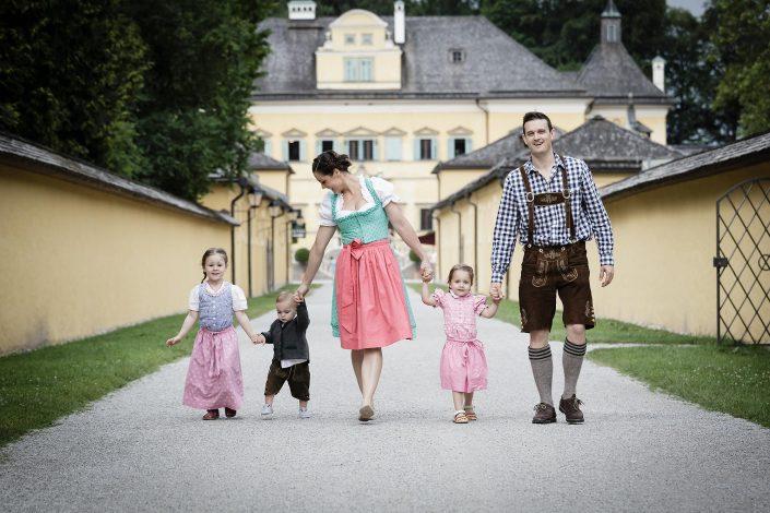 Familienfoto Hellbrunn