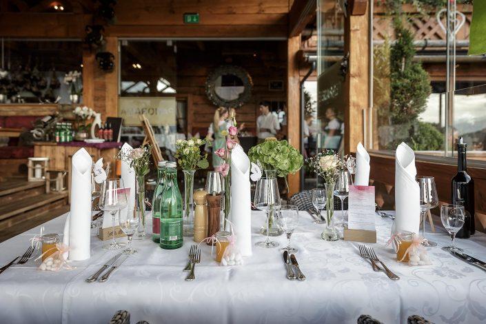Hochzeitsfotos Salzburg Brauttisch, Christian Streili Photography