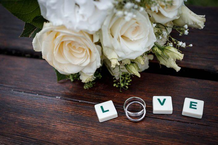 Hochzeitsfotos Salzburg Brautstrauß, Christian Streili Photography