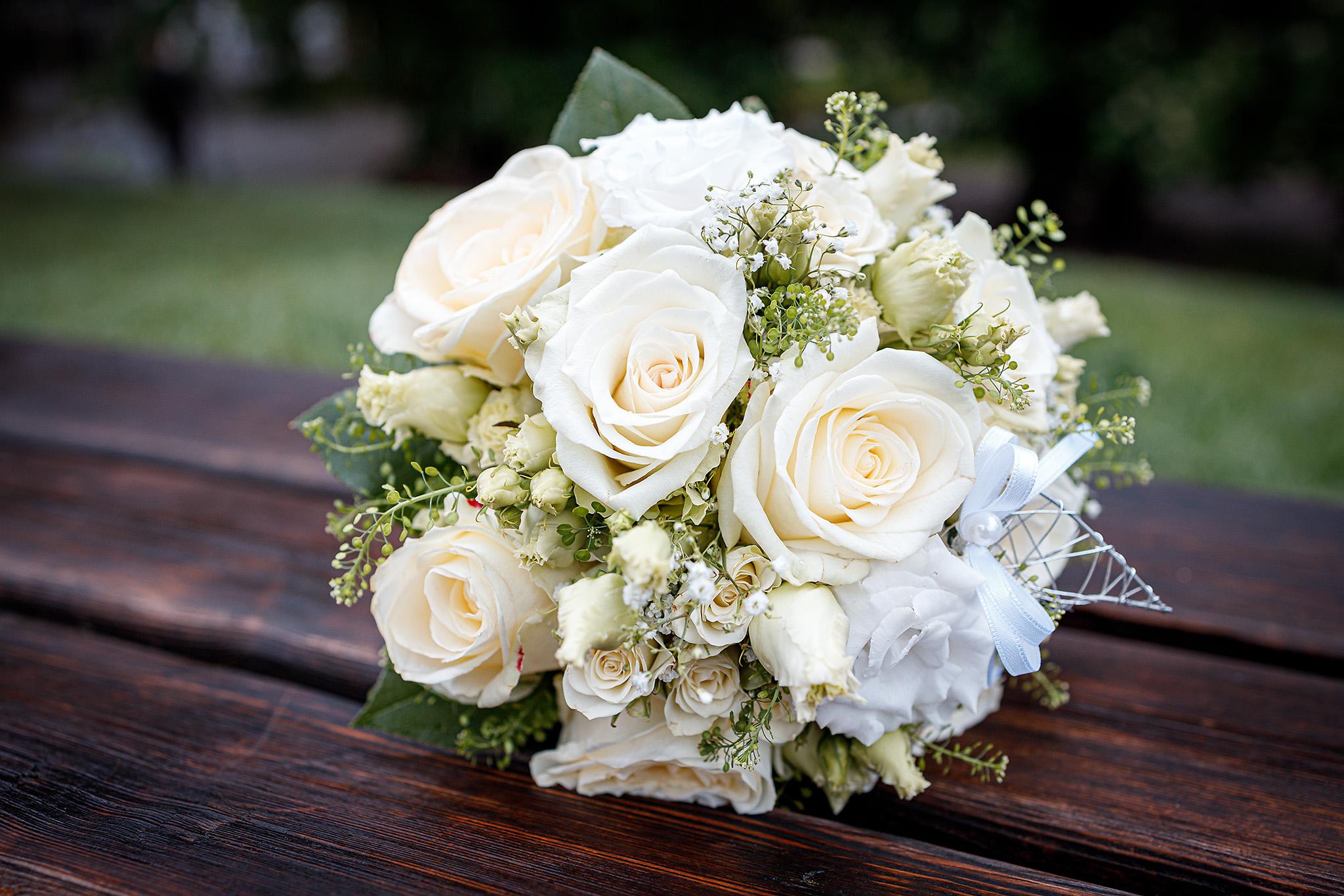 Hochzeitsfotos Salzburg Brautstrauß Blumen, Christian Streili Photography