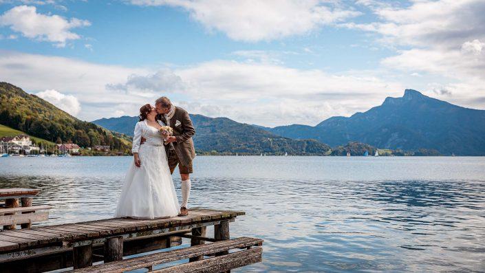 Hochzeitsfoto Mondsee