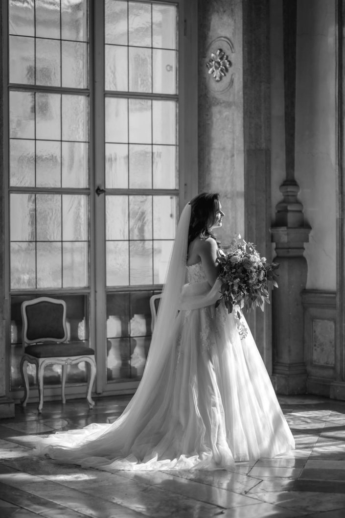 Hochzeitsfoto Salzburg Mirabell / Hochzeitsfotograf Salzburg Christian Streili